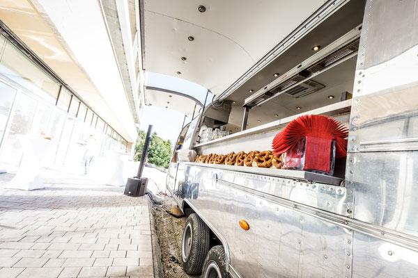 Auftragsarbeit für Benedictus-Krankenhaus Tutzing: Catering Food-Truck