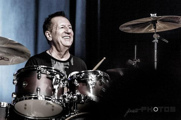 Herman Rarebell [ Schlagzeuger, Komponist und Autor bei den Scorpions von 1977 - 1996 ]|