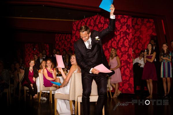 Hochzeit [ Abendveranstaltung | Spiel | Seerestaurant Marina, Bernried, Starnberger See ]