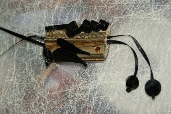 """Porte-clé USB """"Ange Noir"""""""