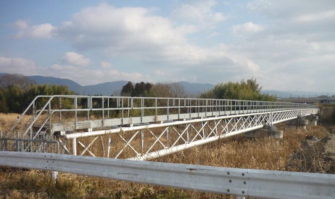 発注機関名:伊賀水道事務所  業務名:水管橋設計業務委託(柘植川・鞆田川)