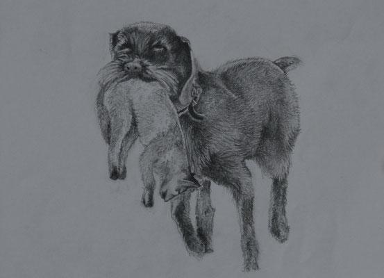 """""""Quincy mit Fuchs"""" 2011"""