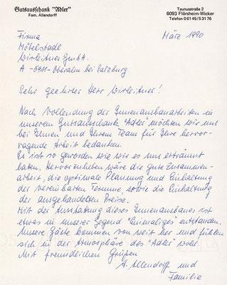 """Fam. Allendorff, Gutsausschank """"Adler"""""""