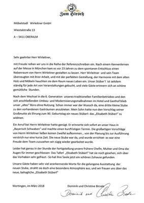 """Fam. Birzele, Hotel & Gasthof """"Zum Hirsch"""", Wertingen"""