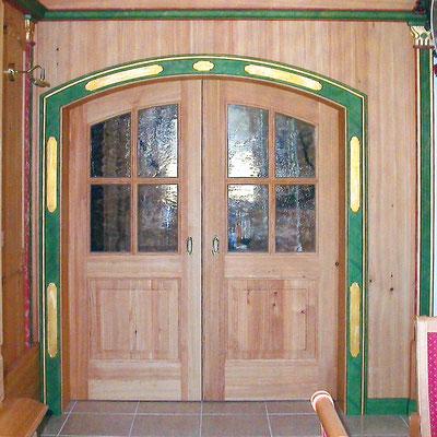 Die Tür zum großen Saal