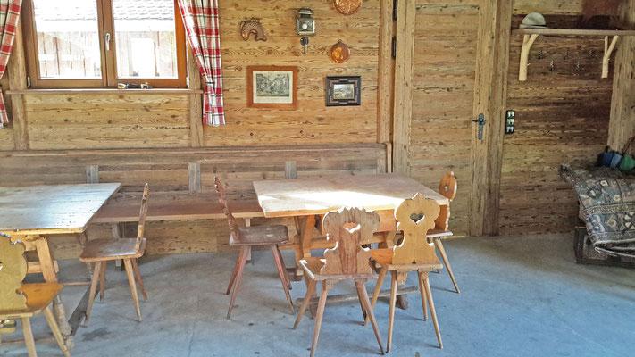 Wirleitner - Gaststube aus original Altholz