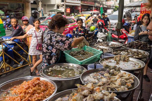 Straßenküche in Chinatown