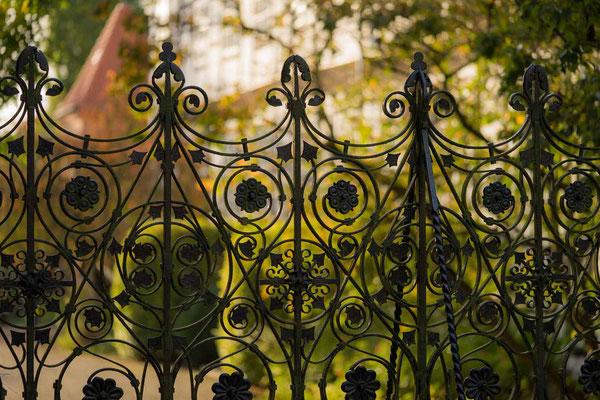 Der Zaun am Stift