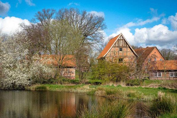 Heimatmuseum im Frühling