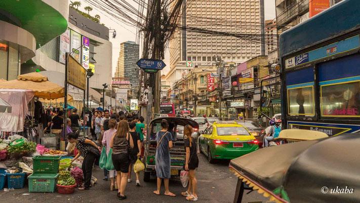 Straßenszene in Silom