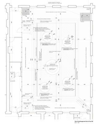 Plan d'aménagement projet