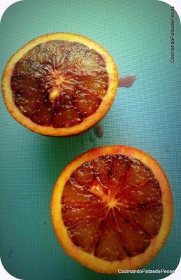 Con vosootros: la naranja sanguina