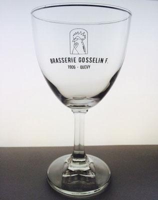 Verre Brasserie Gosselin F