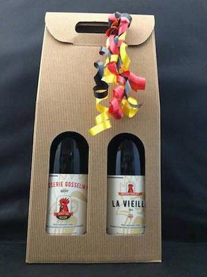 Pack Duo Bière La Vieille 75cl + Le Coq 75cl - Brasserie Gosselin F