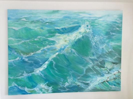 Das Meer in Mier 220cm x 114 cm