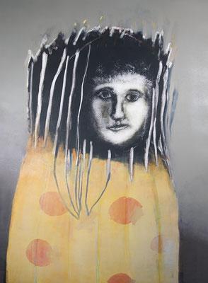 Bois de nuit, 2021 - Monotype 92x67cm- 1700,00€