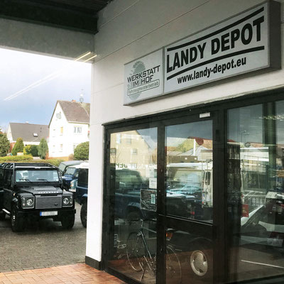 Landy Depot, Objektbeschriftung