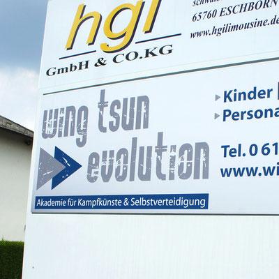 WING TSUN EVOLUTION, Außenwerbung