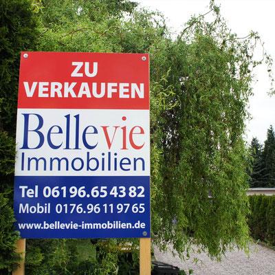 BELLEVIE IMMOBILIEN, Maklerschild