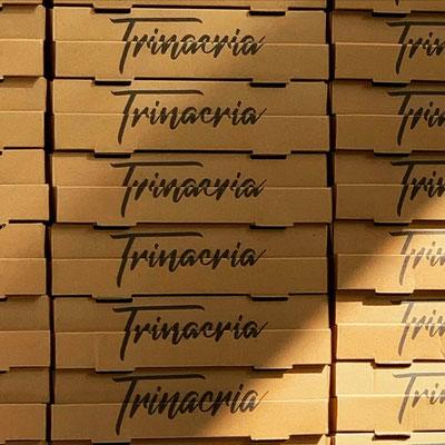 RISTORANTE TRINACRIA, Pizzakarton
