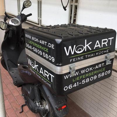 WOK ART, Rollerboxbeschriftung