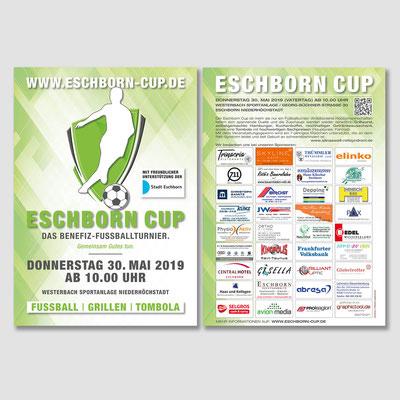 ESCHBORN CUP, Flyer 2019