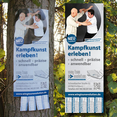 WING TSUN EVOLUTION, Infoposter