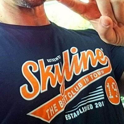 SKYLINE 19 BAR, T-Shirts