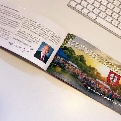 Eschborn + Niederhöchstadt kaufen ein 2018! Informations- und Gutscheinheft für Eschborn