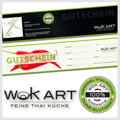 WOK ART, Gutschein