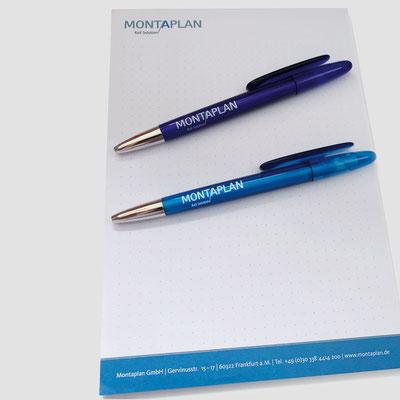 MONTAPLAN, Notizblock