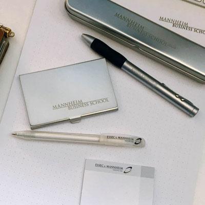 MANNHEIM BUSINESS SCHOOL, Messe-Giveaways