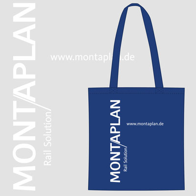 MONTAPLAN, Baumwolltasche als Give-Away