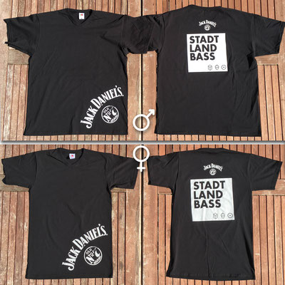 JACK DANIEL'S, tailor-made T-Shirts