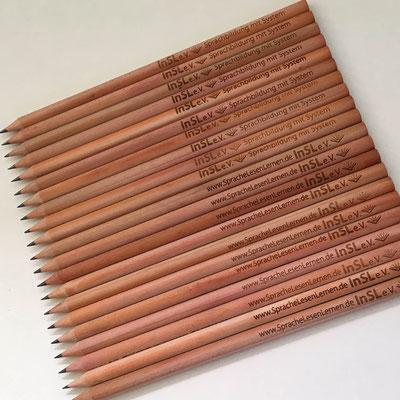 INSL, Giveaway Bleistifte