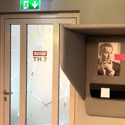 PACON REAL ESTATE, Leitsystem für Bürogebäude in Frankfurt