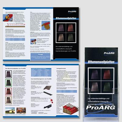 PROARG, Flyer + bedruckter Dispenser