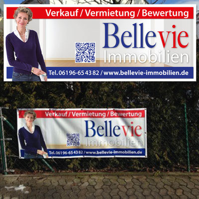 BELLEVIE IMMOBILIEN, Maklerbanner