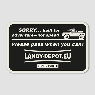 LANDY DEPOT, Aufkleber