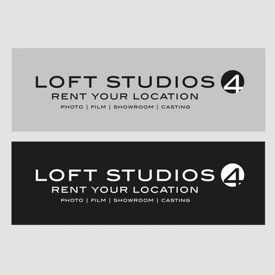 LOFT STUDIOS 4, Logogestaltung