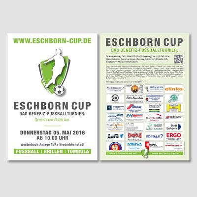 ESCHBORN CUP, Flyer 2016