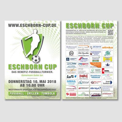 ESCHBORN CUP, Flyer 2018