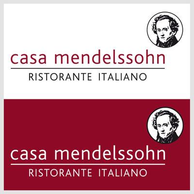 CASA MENDELSSOHN, Logoentwicklung