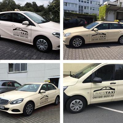 LIMES TAXI, Taxibeschriftung