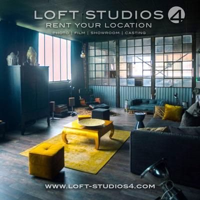 LOFT STUDIOS 4, Flyer