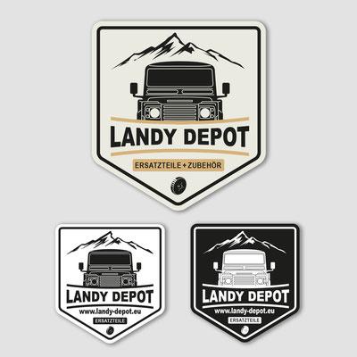 LANDY DEPOT, Logodesign
