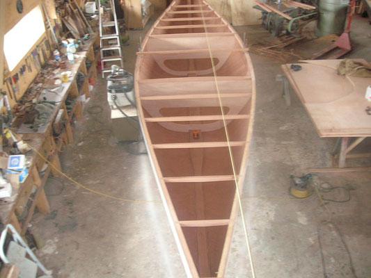 | Construction de bateaux en bois© Chantier naval Kolly | Tannay
