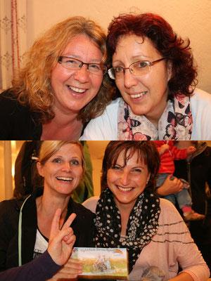Annett und Katrin, Mandy und Heike