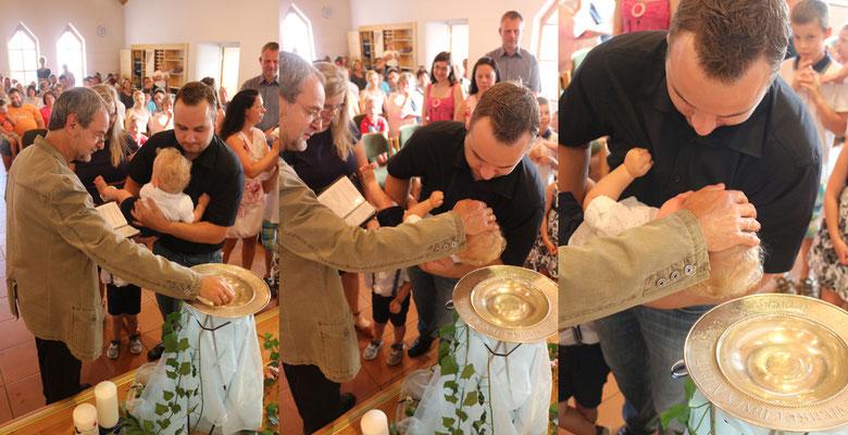 Taufe von Fritz