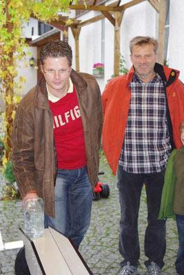 Sommerfest 2010 - Torsten und Peter
